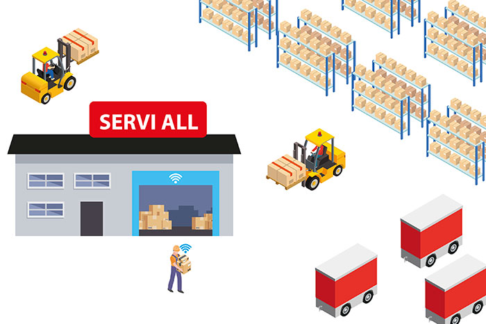 Smart Warehouse y Administración de Pañol Full Disponibilidad